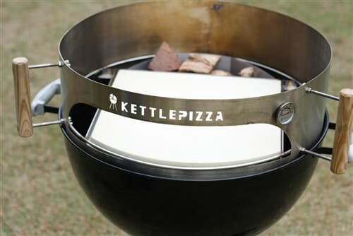 KettlePizza Pro 22 Charcoal Pizza Oven Kit - KPPK-22