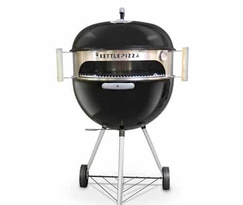 kettlepizza basic charcoal grill pizza oven kit weber pizza oven kit kpb 22. Black Bedroom Furniture Sets. Home Design Ideas