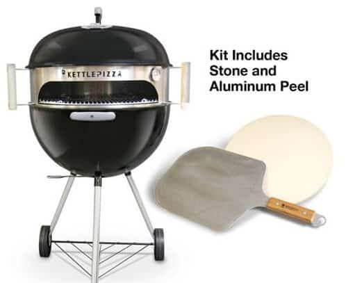 KettlePizza Deluxe USA Outdoor Pizza Oven Kit - KPDU-22