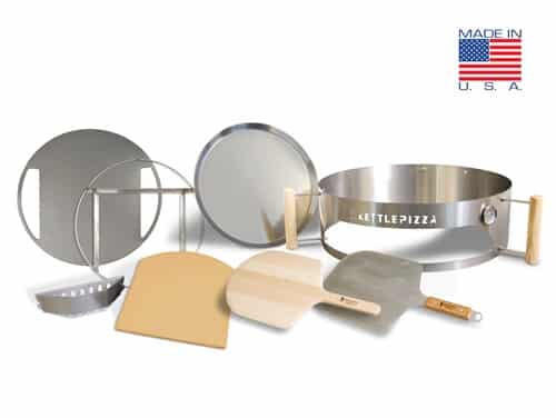 Serious Eats KettlePizza Special Edition Kit - Cold Rolled Steel - KPSE-22