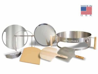 Serious Eats KettlePizza Special Edition Kit - Stainless Steel - KPSE-22S