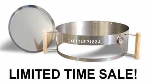 Pre Season Sale On KettlePizza Basic Charcoal Pizza Oven Kit