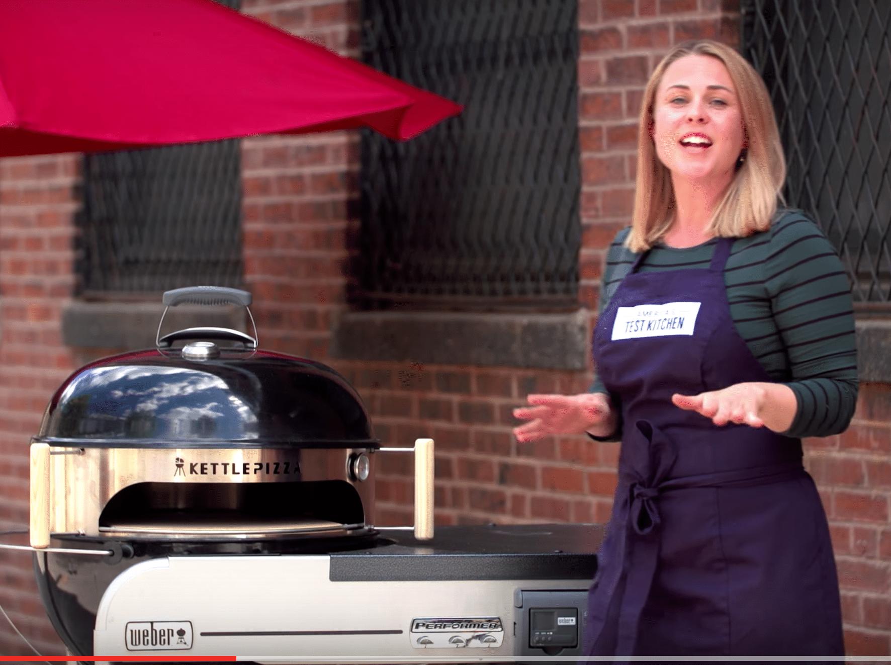 KettlePizza On America's Test Kitchen