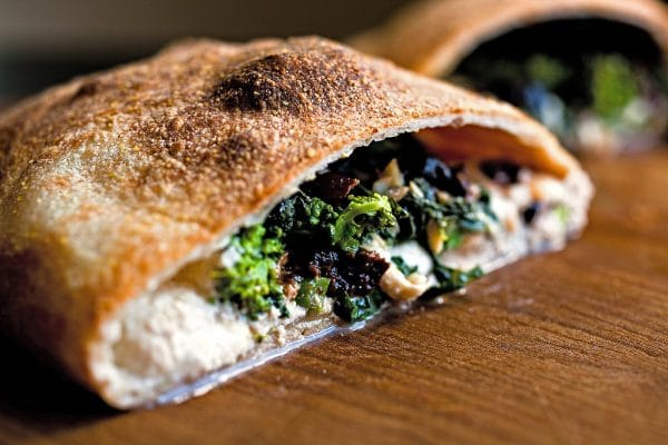 Broccoli Calzone in KettlePizza