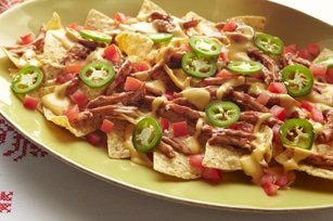 Wood-Fired Nachos With Chicken