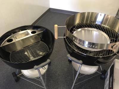 kettlepizza basic charcoal pizza oven kit weber pizza oven kit kpb 22. Black Bedroom Furniture Sets. Home Design Ideas