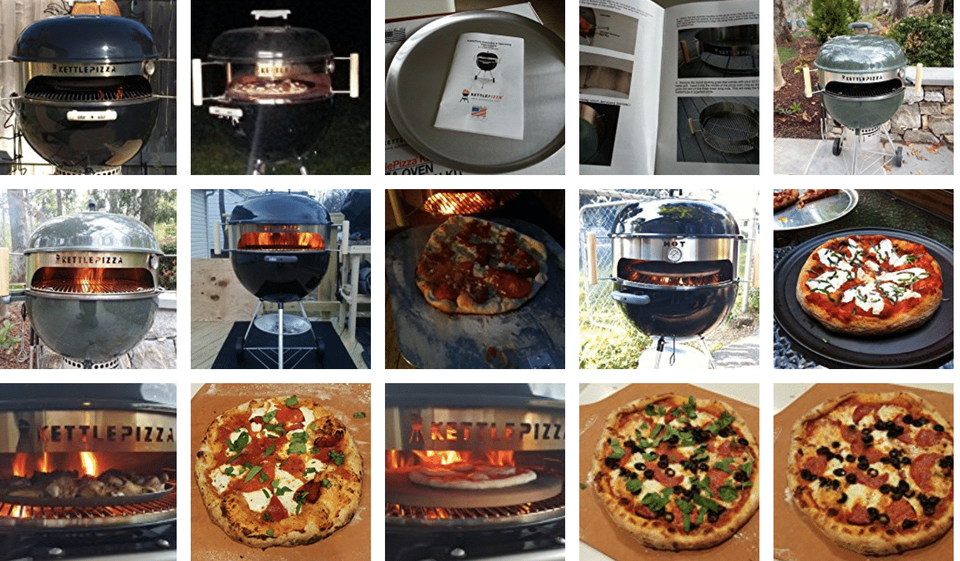 You Can't Fool Amazon Reviewers – See How They Like KettlePizza Products